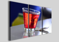 Stampe su tela Campari soda quadri moderni cocktail per arredamento bar