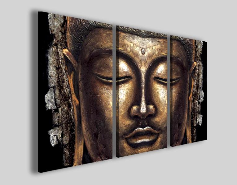 Quadri Buddha VI stampe su tela