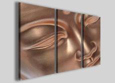 Quadri moderni Buddha III stampe su tela arte zen design