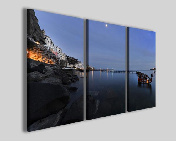 Quadri città Amalfi I skyline panorama stampe