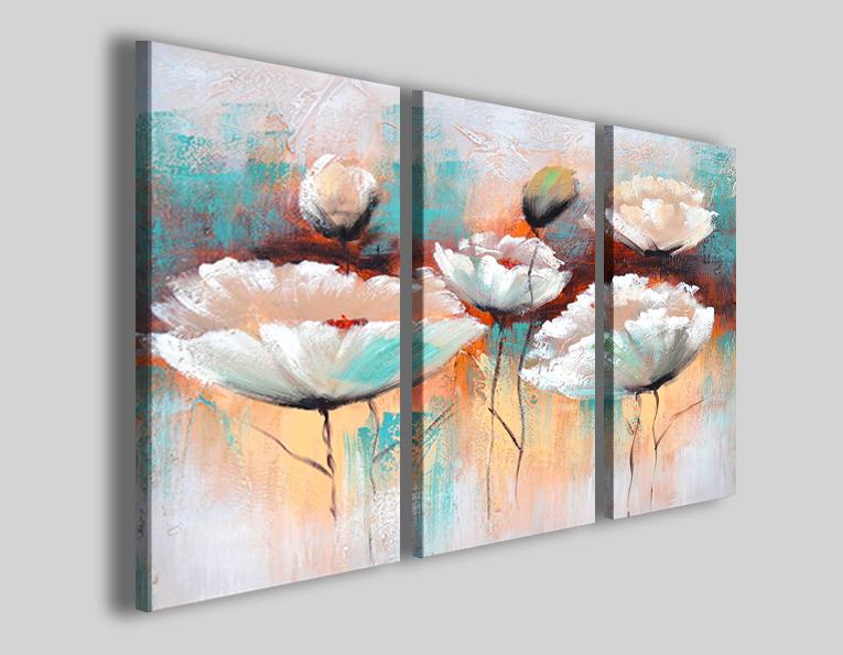 Fiori Quadri Moderni.Quadri Moderni Fiori Art 55 Stampe Su Tela Canvas 30artgallery