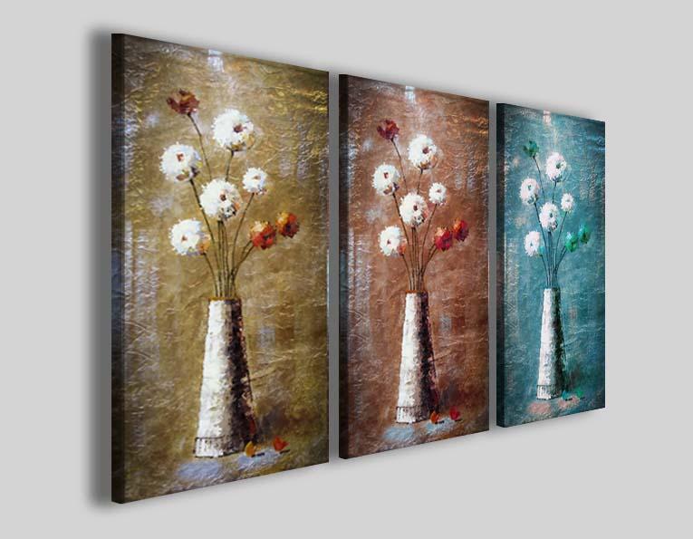 Quadri moderni fiori art 66 stampe su tela canvas - 30ArtGallery
