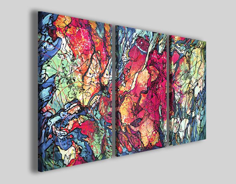 Quadri moderni astratti art 78 stampe su tela 30artgallery for Quadri moderni astratti su tela
