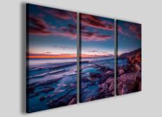 Quadri su tela paesaggio tramonto Mallorca island stampe su tela canvas