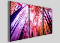 Stampe su tela canvas Mix foliage colors arredamento casa moderna