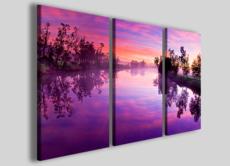 Stampe moderne Violet reflector foto su tela quadri per arredamento casa moderna