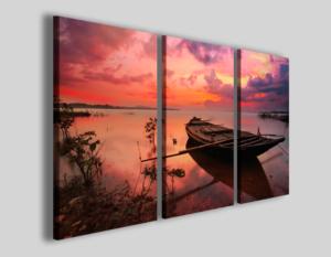 Quadri tramonti e paesaggi