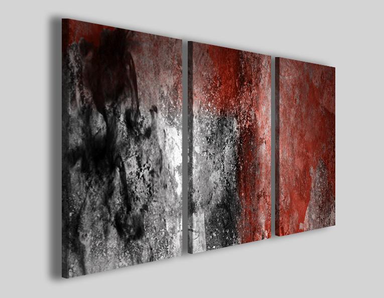 Quadri moderni su tela canvas puro cotone art 82 stampa con finitura ...