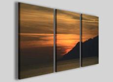 Quadri moderni canvas tramonto art 93 stampe su tela arredamento design