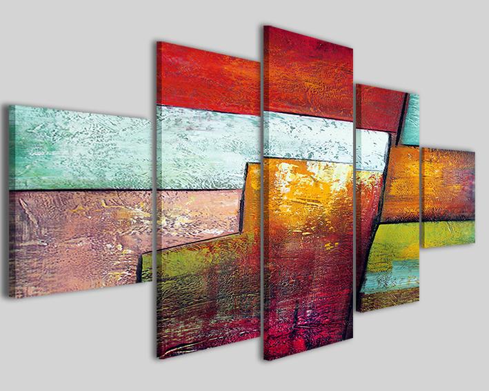 Quadri astratti art 31 stampe su tela canvas astratte