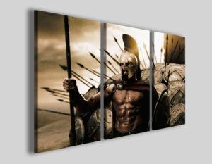 Quadri cinema 300 I stampe canvas gladiatore