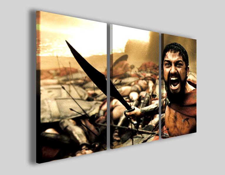 Quadri immagini cinema 300 III leonida sparta