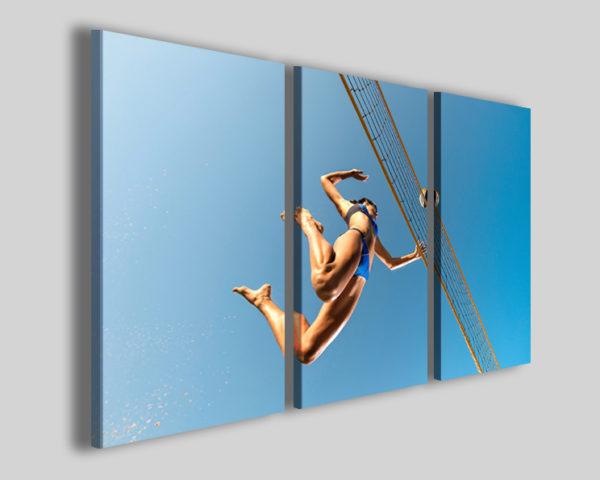 Stampa su tela pallavolo art 4220 quadro beach volley