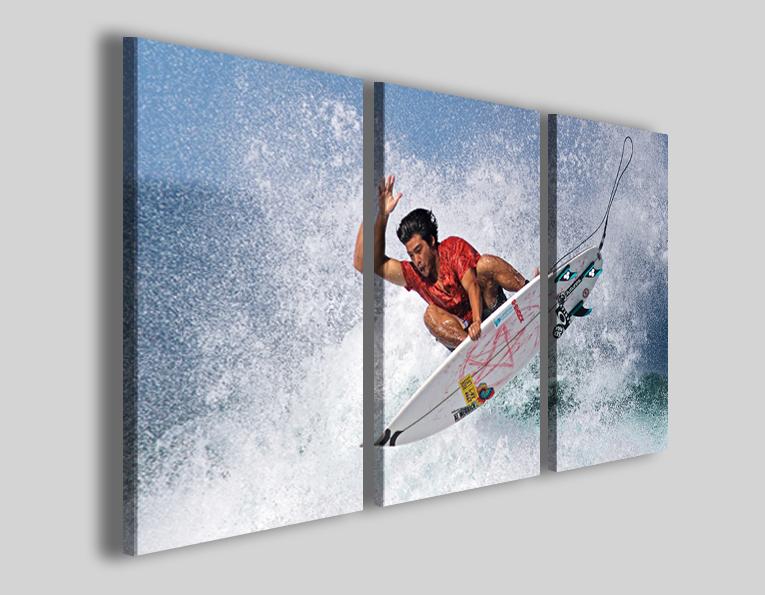 Quadri sport windsurf mare onde
