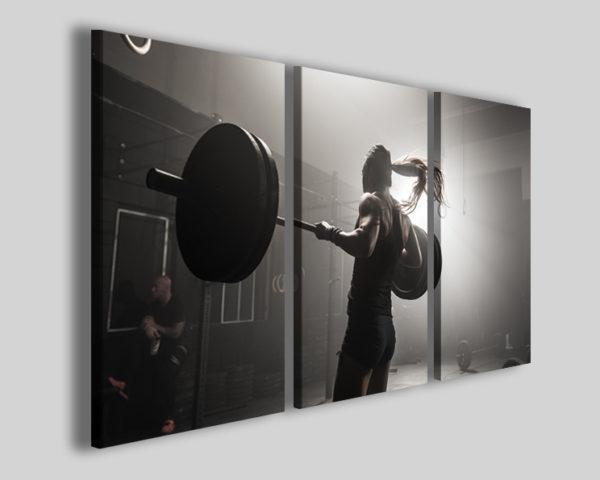 Stampa su tela sport art 4223 quadro crossfit