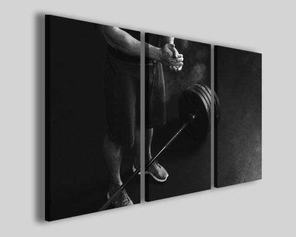 Quadro crossfit sport art 4226 stampa su tela wod
