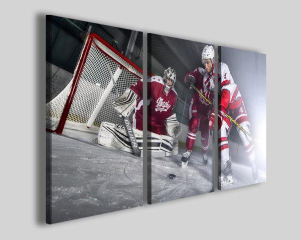 Stampa su tela sport su ghiaccio art 4238 quadri hockey