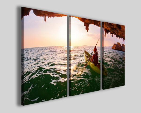 Quadri canoa sport art 4244 stampe su tela