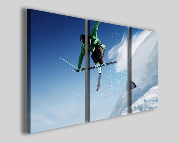 Quadri sport sci art 4248 stampa su tela canvas