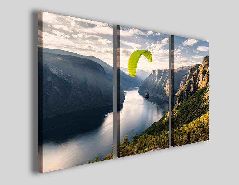 Quadri parapendio sport art 4259 stampa su tela