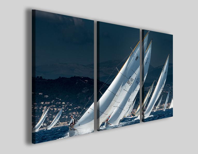 Quadro barche a vela art 4262 stampe su tela