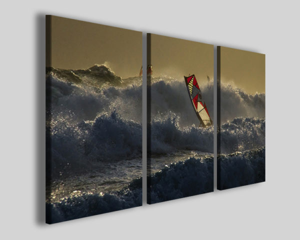 Quadro windsurf art 4264 stampe su tela canvas
