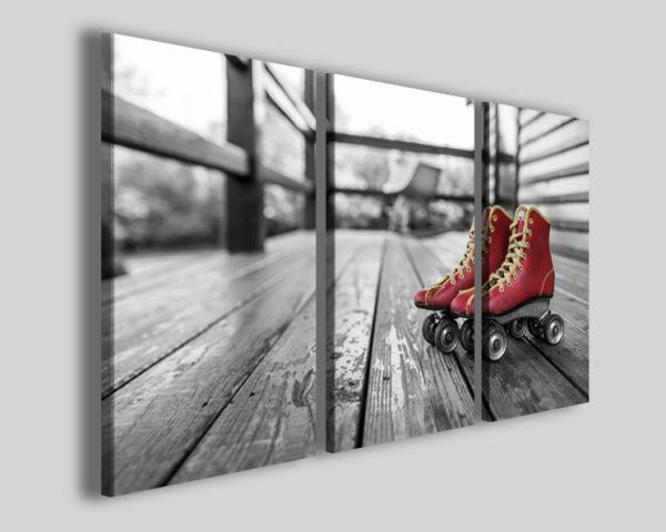 Quadri pattinaggio art 4267 stampe sport su tela