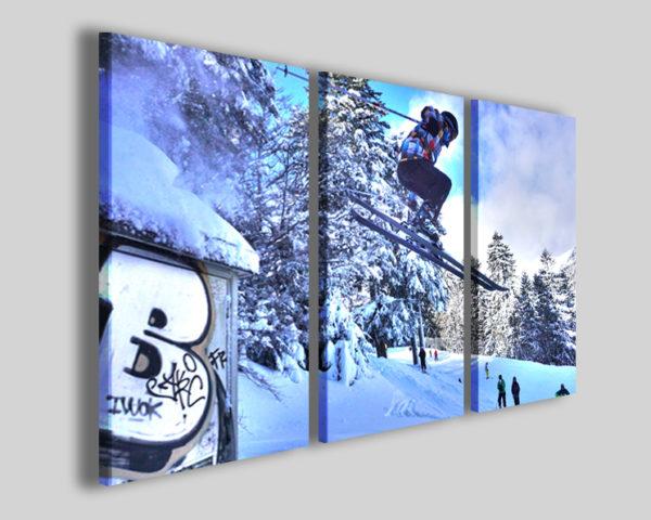 Quadro sci art 4268 stampa sport moderna