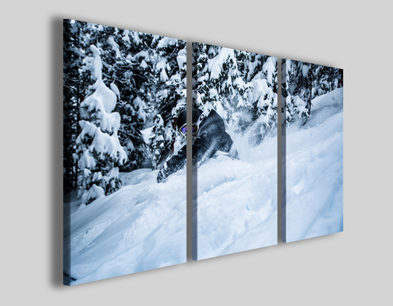 Quadro snowboard art 4271 stampe sport moderne