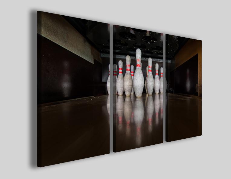 Quadro bowling sport art 4274 stampe moderne su canvas