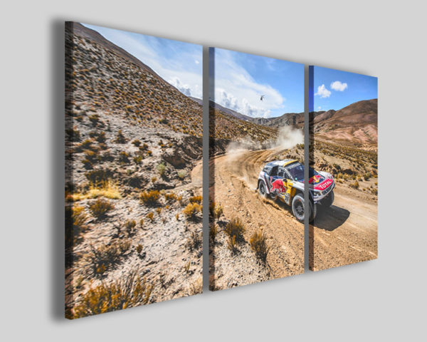 Quadro auto art 4275 stampe auto rally sport