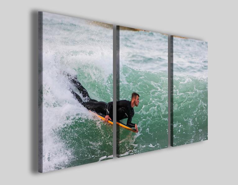 Quadri sport surf art 4283 stampe surfing onde mare lido