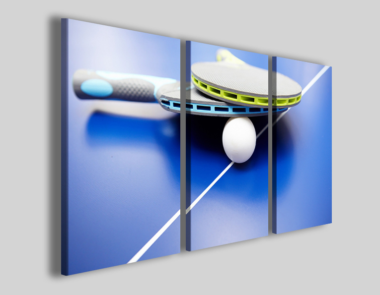 Quadri sport ping pong art 4299 stampe su tela