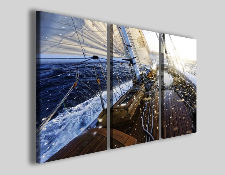 Quadri sport barca a vela nautica art 4308 stampe mare