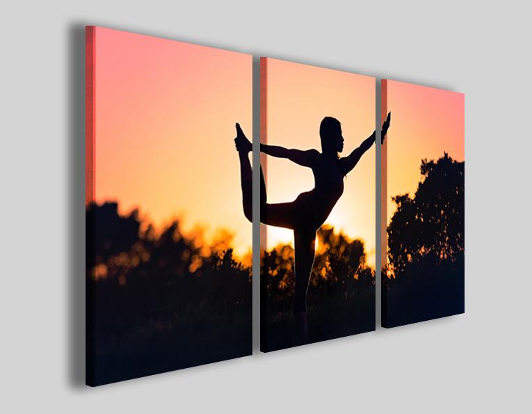 Quadri moderni yoga art 4309 stampe su tela zen