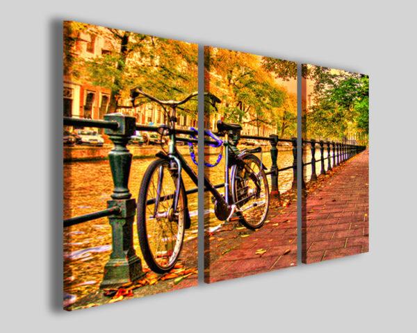 Quadri moderni Bike in amsterdam I stampe città