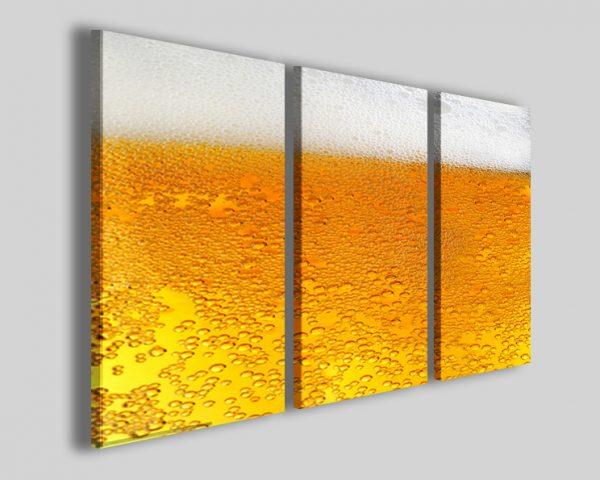 Quadri Birra fresca stampe pub e locali arredamento