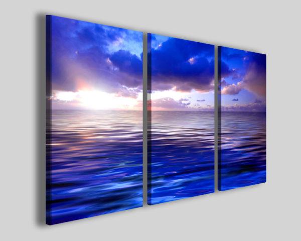 Quadri mare Blu sea stampe moderne tramonti