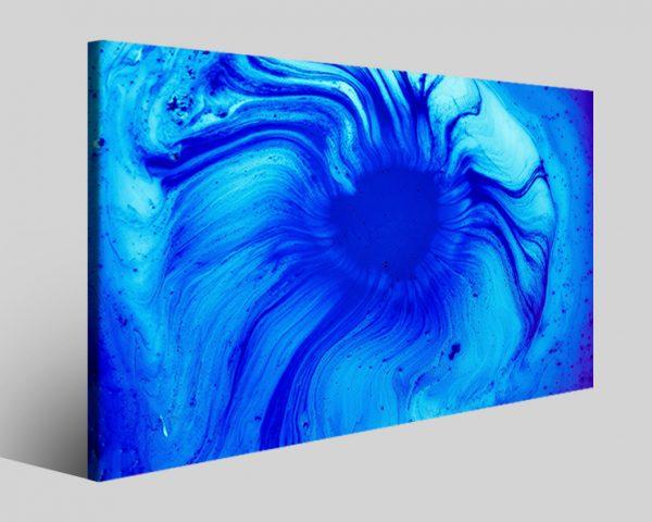 Quadro astratto Bluegrad stampa su tela