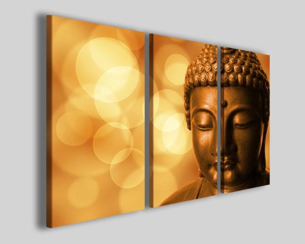 Quadri Buddha XII stampe su tela canvas