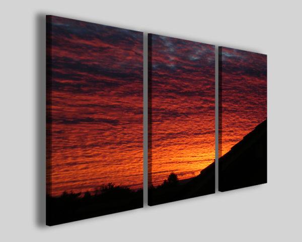 Quadro tramonto Close up sun stampe paesaggi