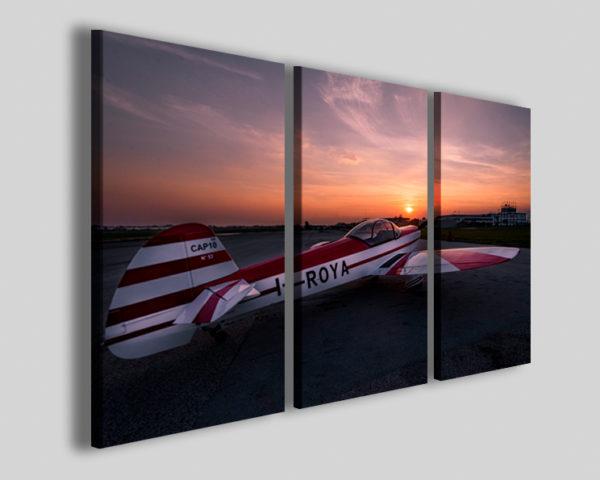 Quadro aereo acrobatico Cap10 III stampa hobby volare