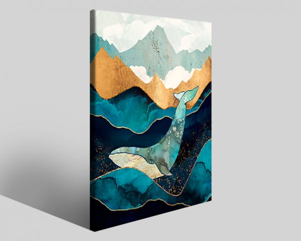 Quadro geometrico Design 766 stampa su tela