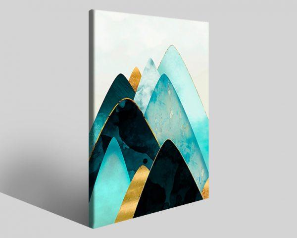 Quadro geometrico Design 772 stampa su tela