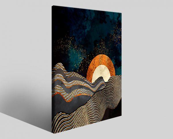 Quadro geometrico Design 773 stampa su tela