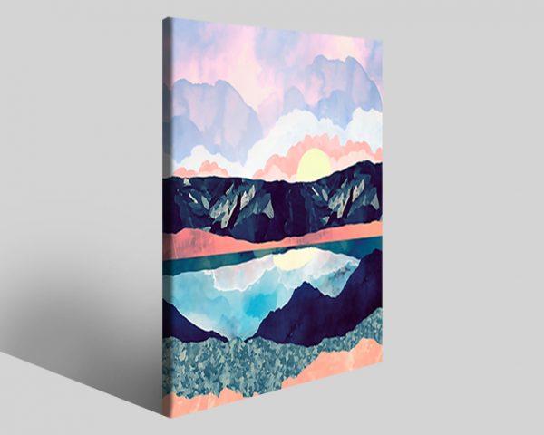 Quadro geometrico Design 780 stampa su tela