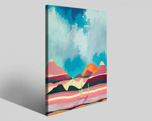 Quadro geometrico Design 789 stampa su tela