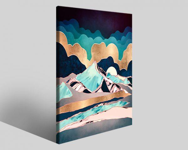 Quadro geometrico Design 800 stampa su tela