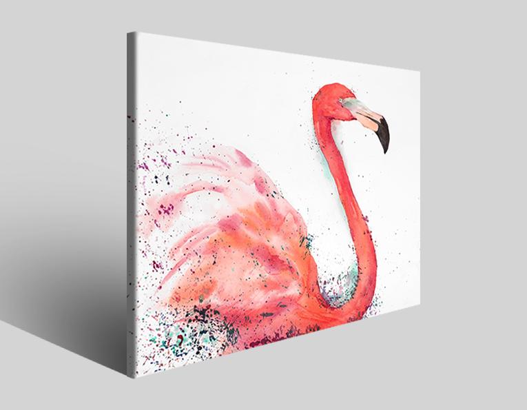 Quadri animali Flamingo I stampe arredamento moderno