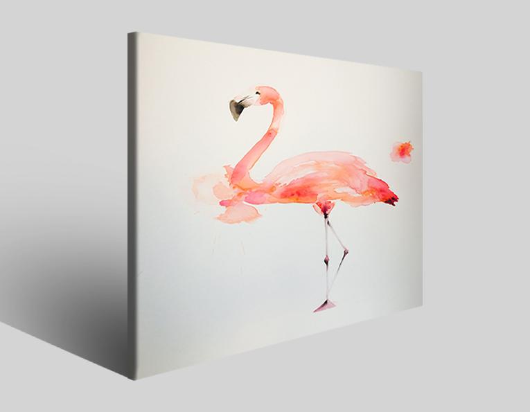 Stampe su tela Flamingo IV quadri canvas immagini poster